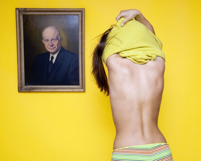 В Охайо е незаконно да се събличаш пред портрет на мъж