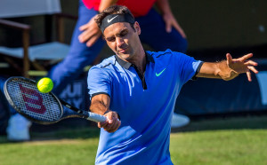 Федерер комфортно на полуфинал в Хале