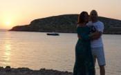 Иниеста отпразнува по романтичен начин годишнина