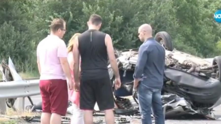 Челен удар взе пет живота, 7 жертви в Бургаско
