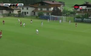 Втори гол за ЦСКА срещу Карабах