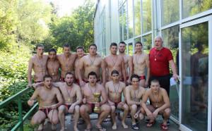 Локомотив Никола Нанов стана шампион по водна топка