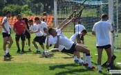 Силови тренировки в Локо Пд, Пламен Николов се присъедини към тима