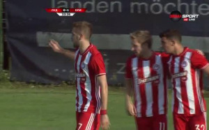 Олимпиакос наказа Лудогорец за 1:0