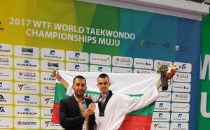 Владимир Далаклиев с бронз от Световното по таекуондо