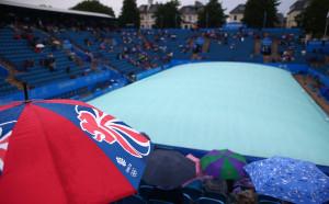 Дъждът отложи мача на Пиронкова в Ийстбърн