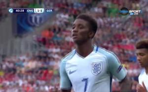 Демарай Грей върна Англия в мача срещу Германия