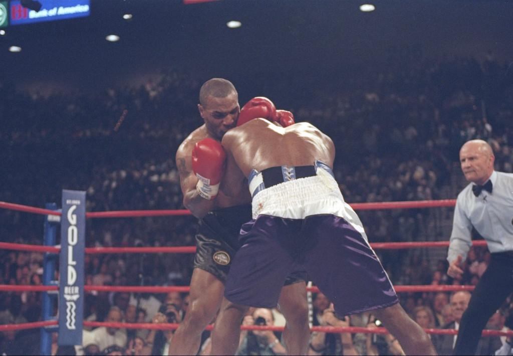 Майк Тайсън и Ивендър Холифийлд<strong> източник: Gulliver/Getty Images</strong>
