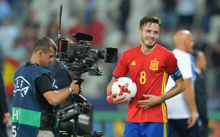 Саул Нигес е най-скъпият футболист на Европейското за младежи