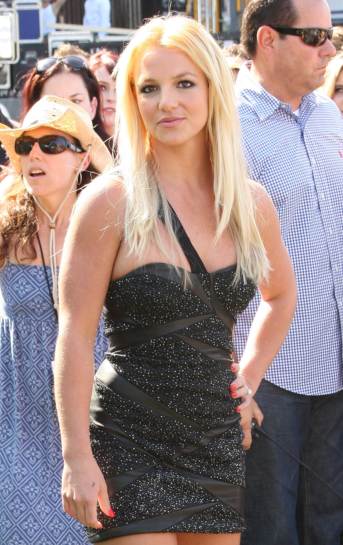 Бритни Спиърс през 2009г.