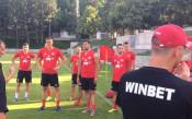 Нов играч тренира с ЦСКА<strong> източник: cska.bg</strong>