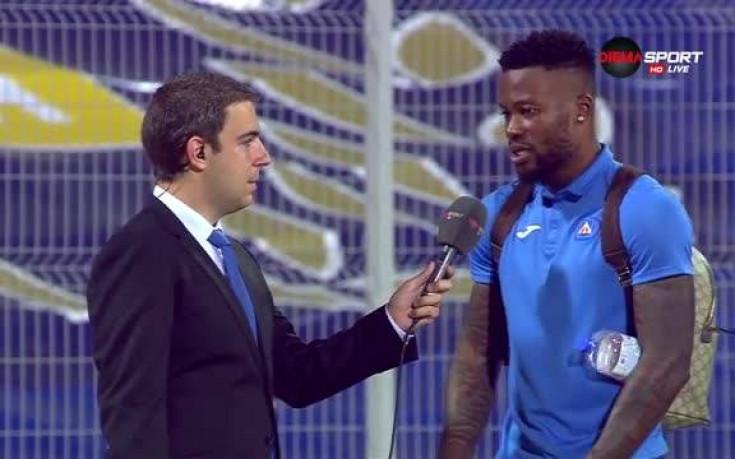 Героят за Левски: Бях в стрес преди мача, сега съм щастлив