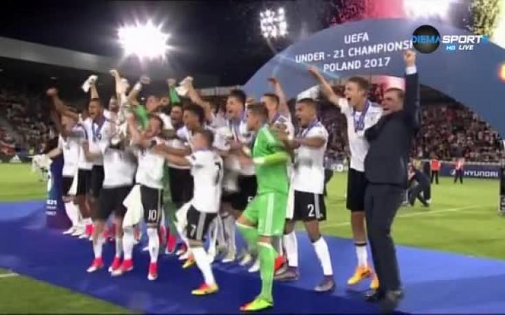 Германия вдигна трофея на Европейското при юношите