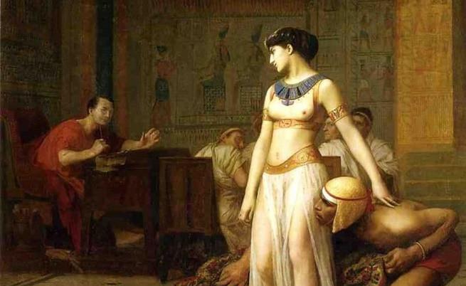 Клеопатра и Цезар