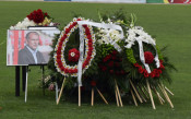 Стотици си взеха последно сбогом с големия Аян Садъков<strong> източник: lokomotivpd.com</strong>