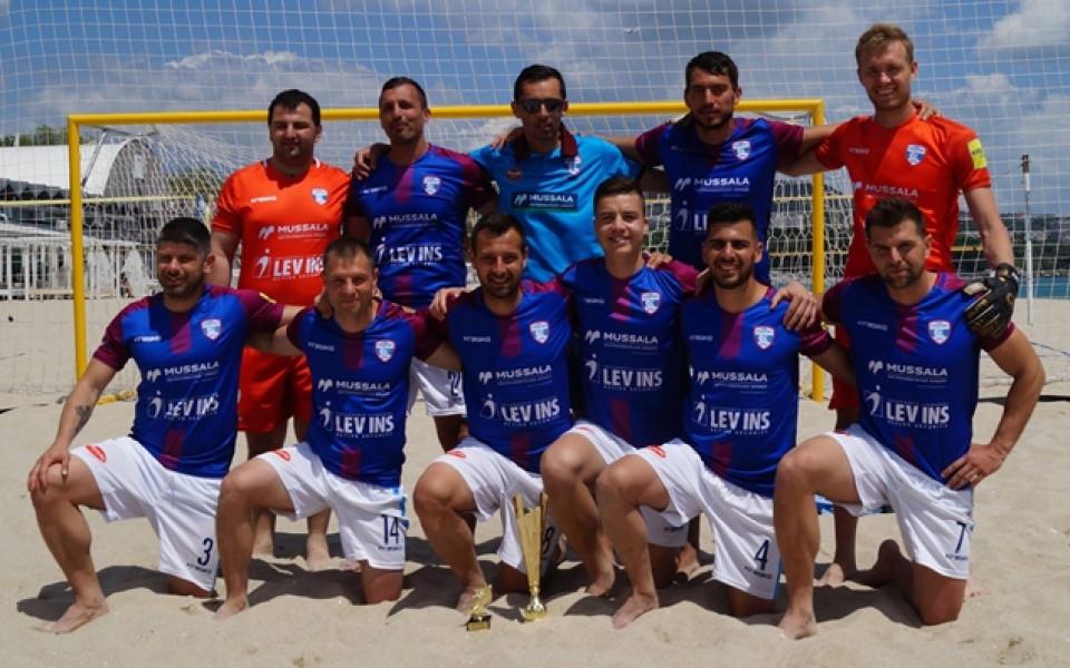 Шампионът по плажен футбол МФК Спартак се пуска на силен турнир