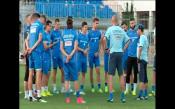 Кадри от последната подготовка на Левски преди мача в Черна гора