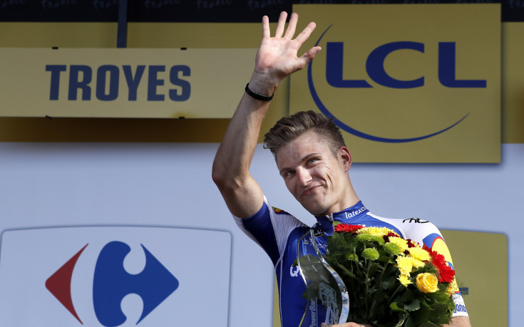 Марсел Кисел  спечели шестия етап  от Тур дьо Франс