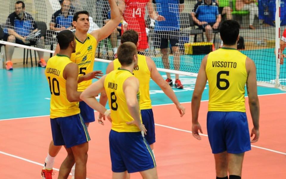 Бразилия и Франция стигнаха полуфиналите в Световната лига
