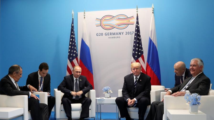 Рекордно дълга среща между Путин и Тръмп
