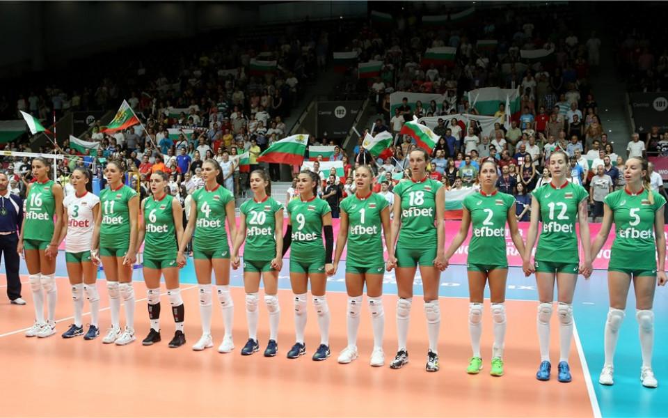 Волейболистките ни прегазиха Португалия на старта на Златната лига