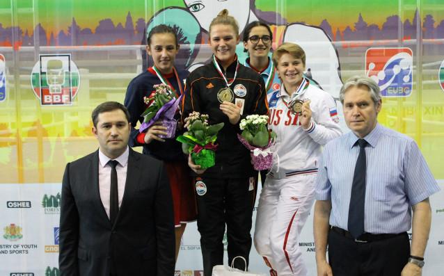 Аслъхан Мехмедова<strong> източник: Българска федерация по бокс</strong>