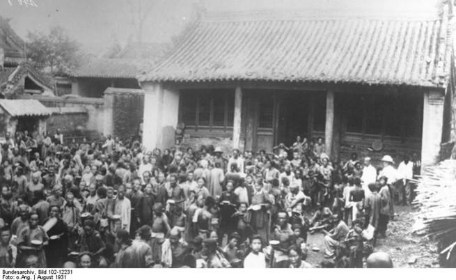 Засегнати от наводнението в Централен Китай от 1931 г.