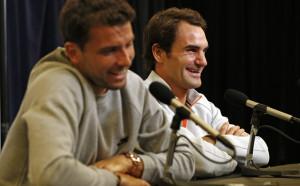 Великият Федерер впечатлен от Григор Димитров