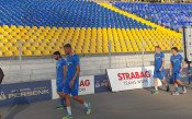 Левски се показа за последно у нас преди мача с Хайдук