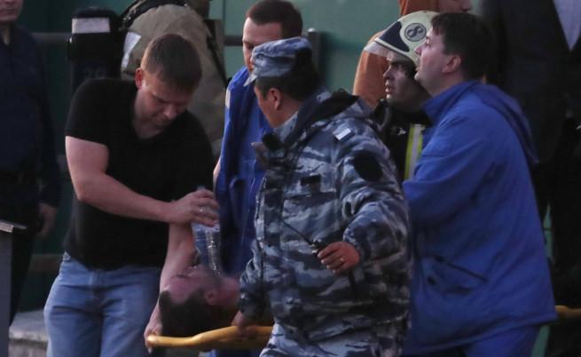 Десетки ранени при голям пожар в Москва