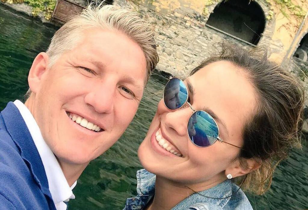 Ана Иванович и Бастиан Швайнщайгер<strong> източник: instagram.com/anaivanovic/</strong>