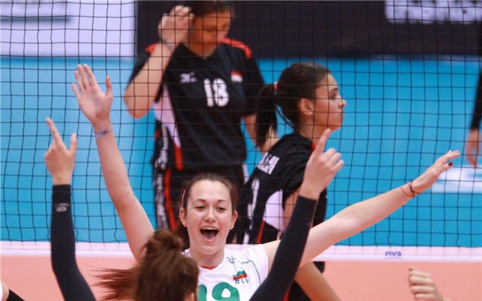 Първа победа за девойките ни на Световното по волейбол