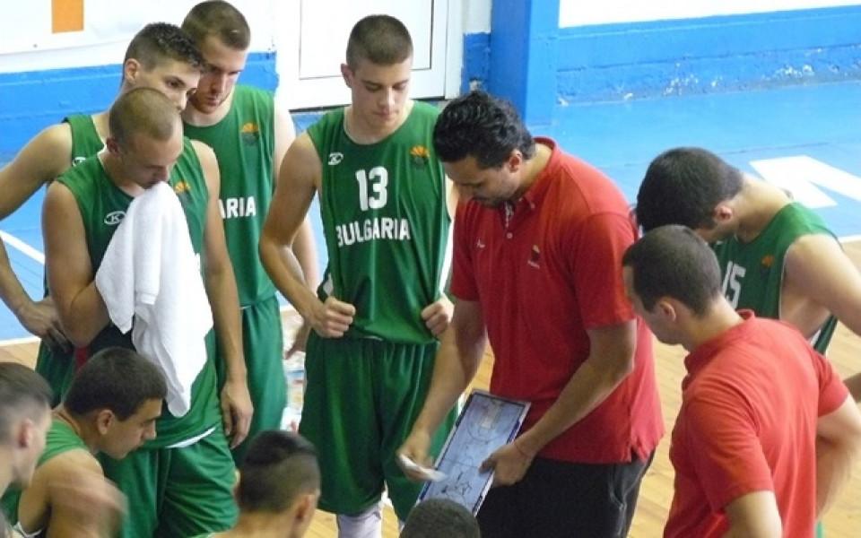 Баскетболните юноши с нов успех срещу Румъния