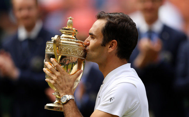 Роджър Федерер покори Уимбълдън за рекорден осми път източник: Gulliver/Getty Images