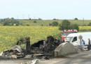 Шофьор изгоря в цистерна край Комарево, ранени