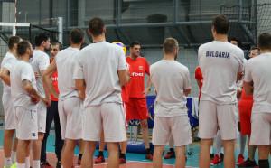 Откритата тренировка на волейболните национали в снимки