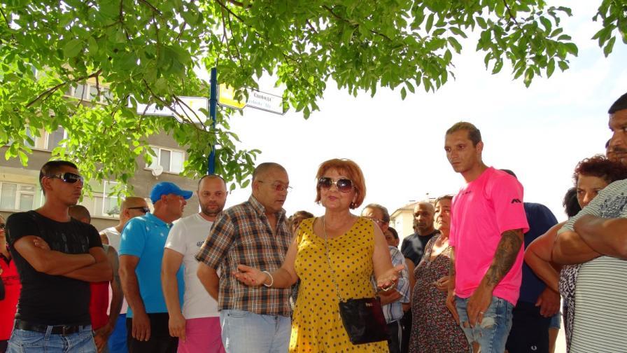 Мирен протест в Благоевград заради убит ром