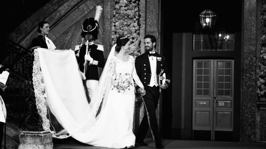 Принцеса София шведският принц Карл Филип