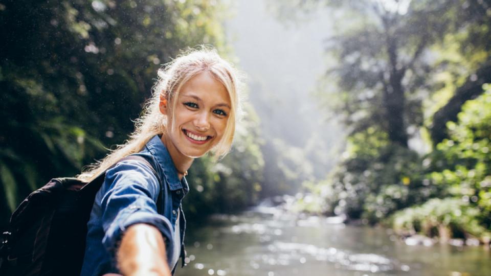 жена усмивка любов