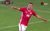 Десподов с лека доза късмет вкара пети гол за ЦСКА