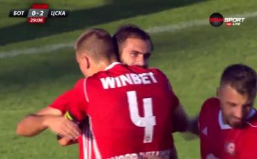 Тиаго Родригес за ЦСКА срещу Ботев Пловдив