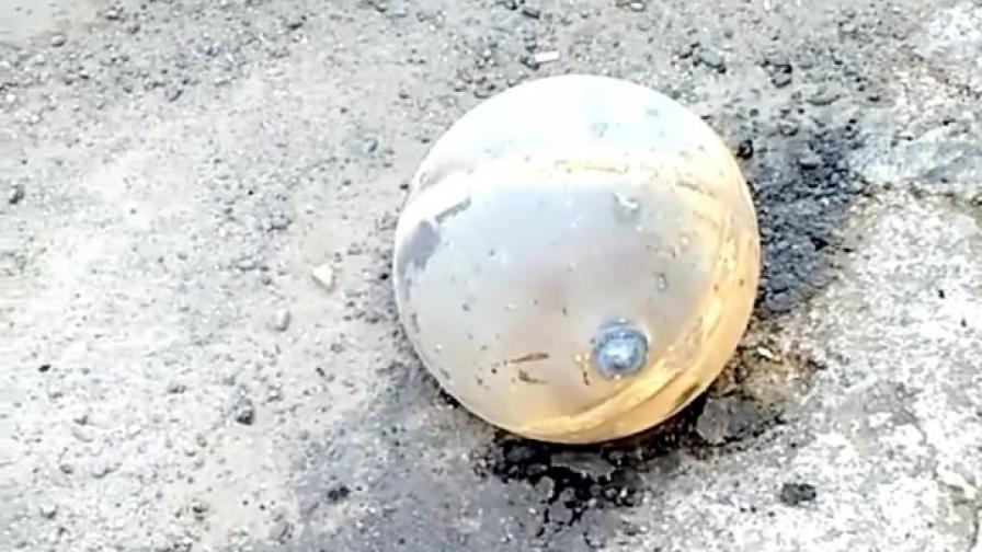 Резервоар от космическа ракета падна на градска улица