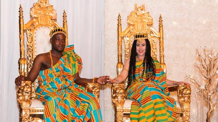 Българка се омъжи за африкански принц