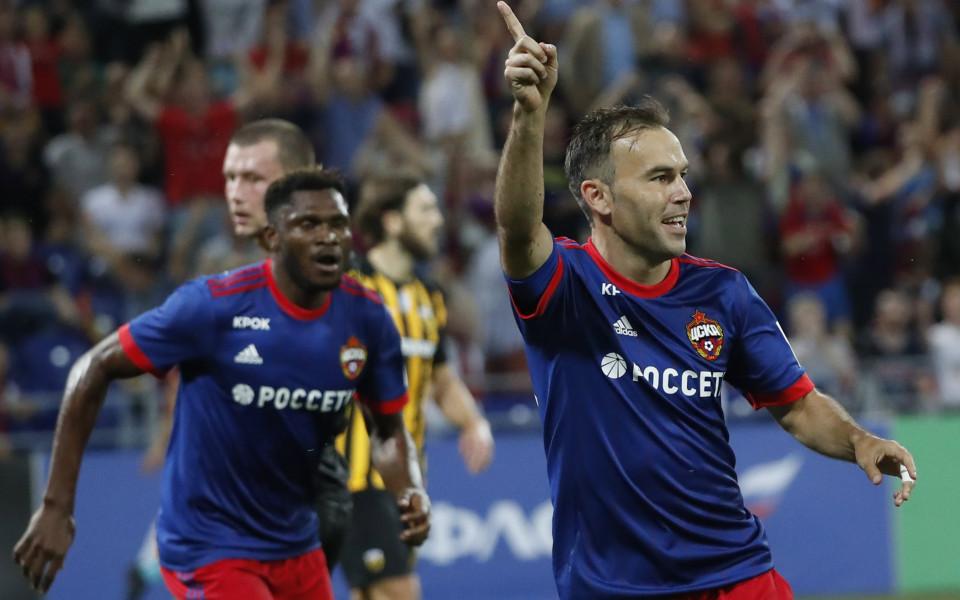 ЦСКА М се класира за плейофа в ШЛ, Миланов се появи като резерва