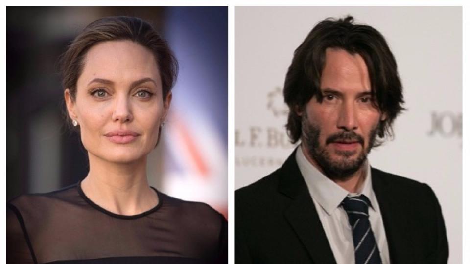 Анджелина Джоли и Киану Рийвс заедно на почивка в Гърция?