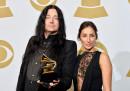 Юнас Окерлунд на 58-ото връчване на наградите Грами