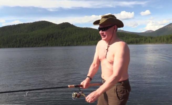 Студената вода не спряла президента