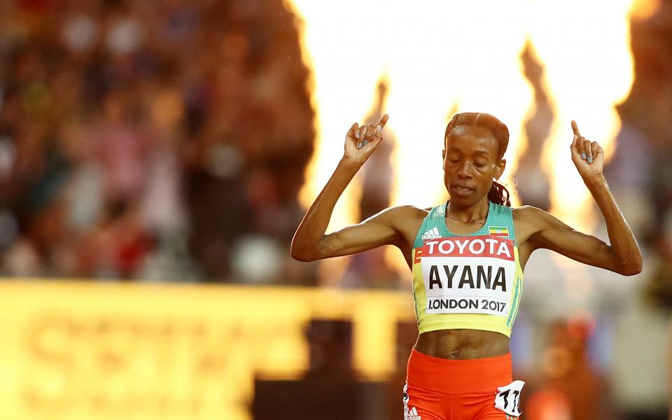 Алмаз Аяна с впечатляваща победа на 10 000 метра