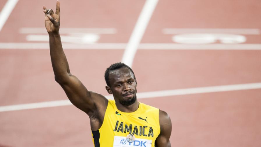 Юсейн Болт се оттегли с бронзов медал