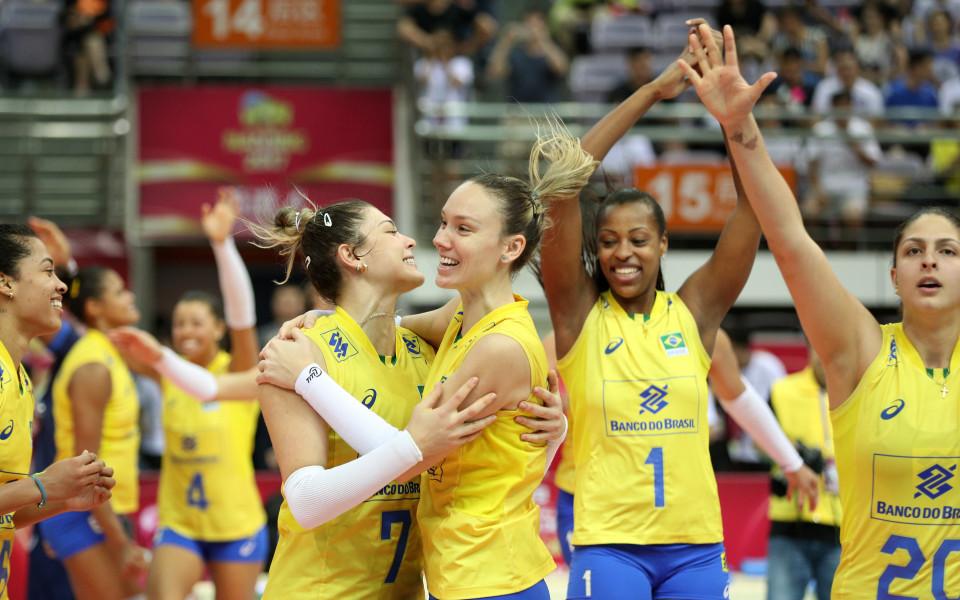 За дванадесети път Бразилия спечели Световното Гран При по волейбол